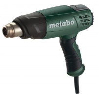 Пистолет за Горещ Въздух Metabo HE 20-600 в куфар с дюзи