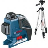 Лазерен Нивелир Bosch GLL 2-80 Professional + BS 150