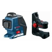Лазерен Нивелир Bosch GLL 3-80 Professional + BM1